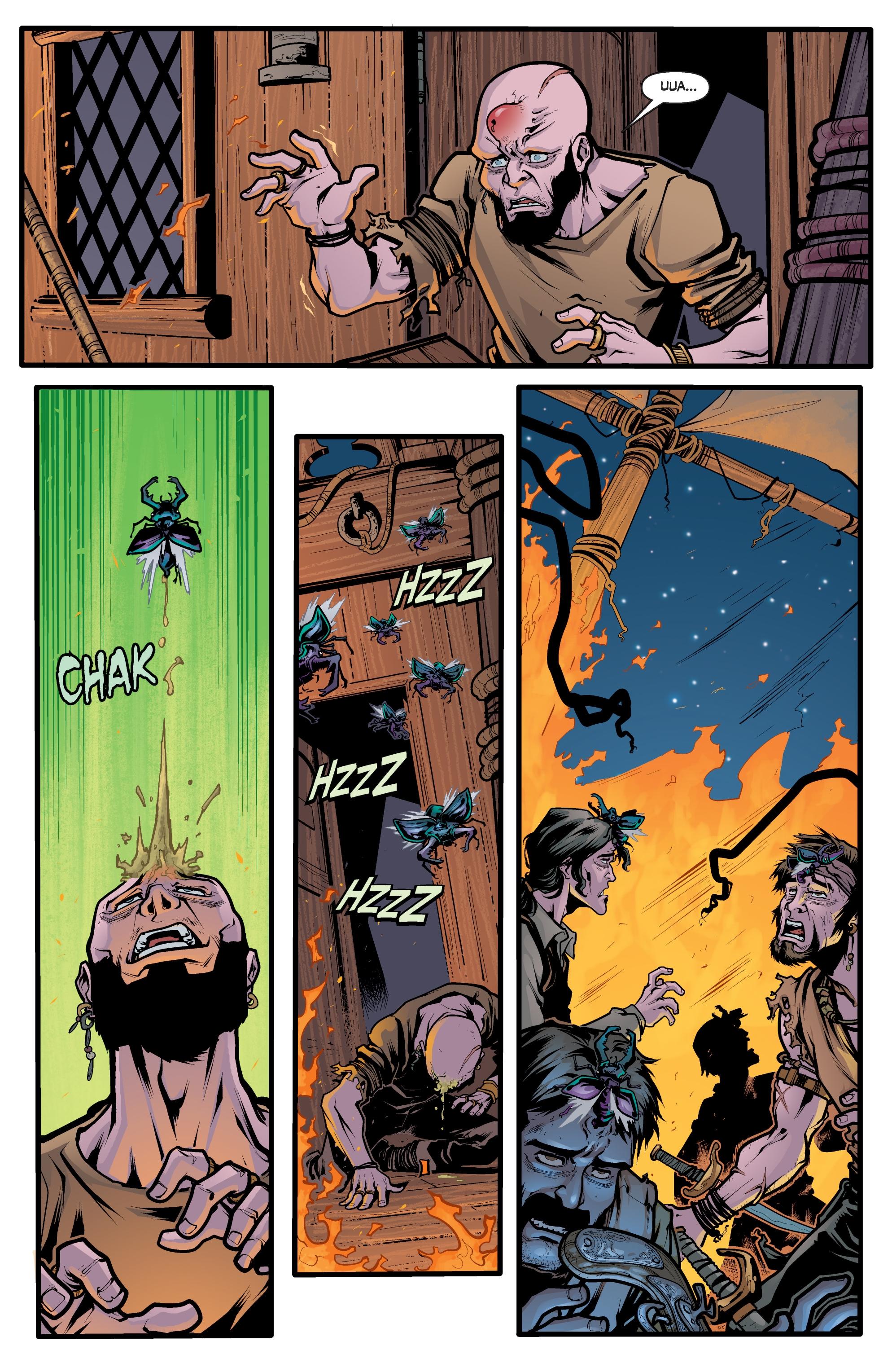 Read online Angel Season 11 comic -  Issue #6 - 20