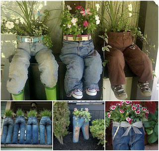 gardening ideas using recycled materials