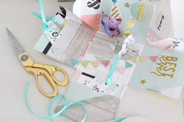 Exploding box, scrapbooking, scrap, DIY ideas para regalar.