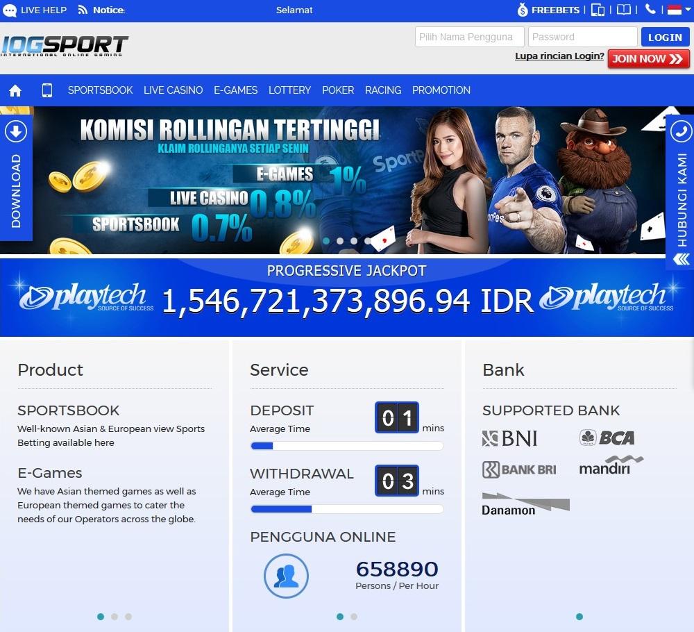 Cara Daftar Akun Casino Online di IOGSPORT ~ IOGSPORT
