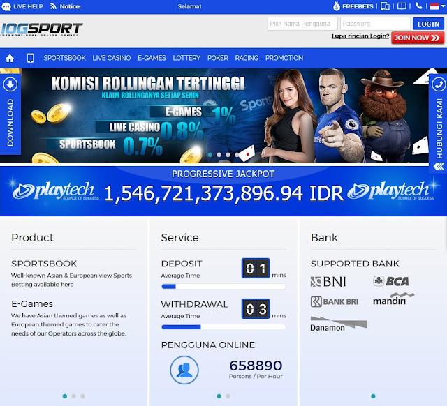 Cara Daftar Akun Casino Online di IOGSPORT