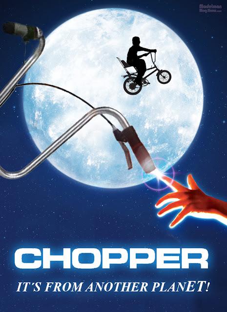 Cuando das una vuelta en una Chopper enseguida notas que no es una bici normal
