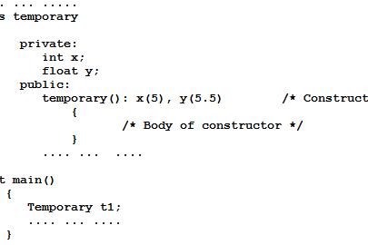 Tutorial Constructors Pemrograman C++