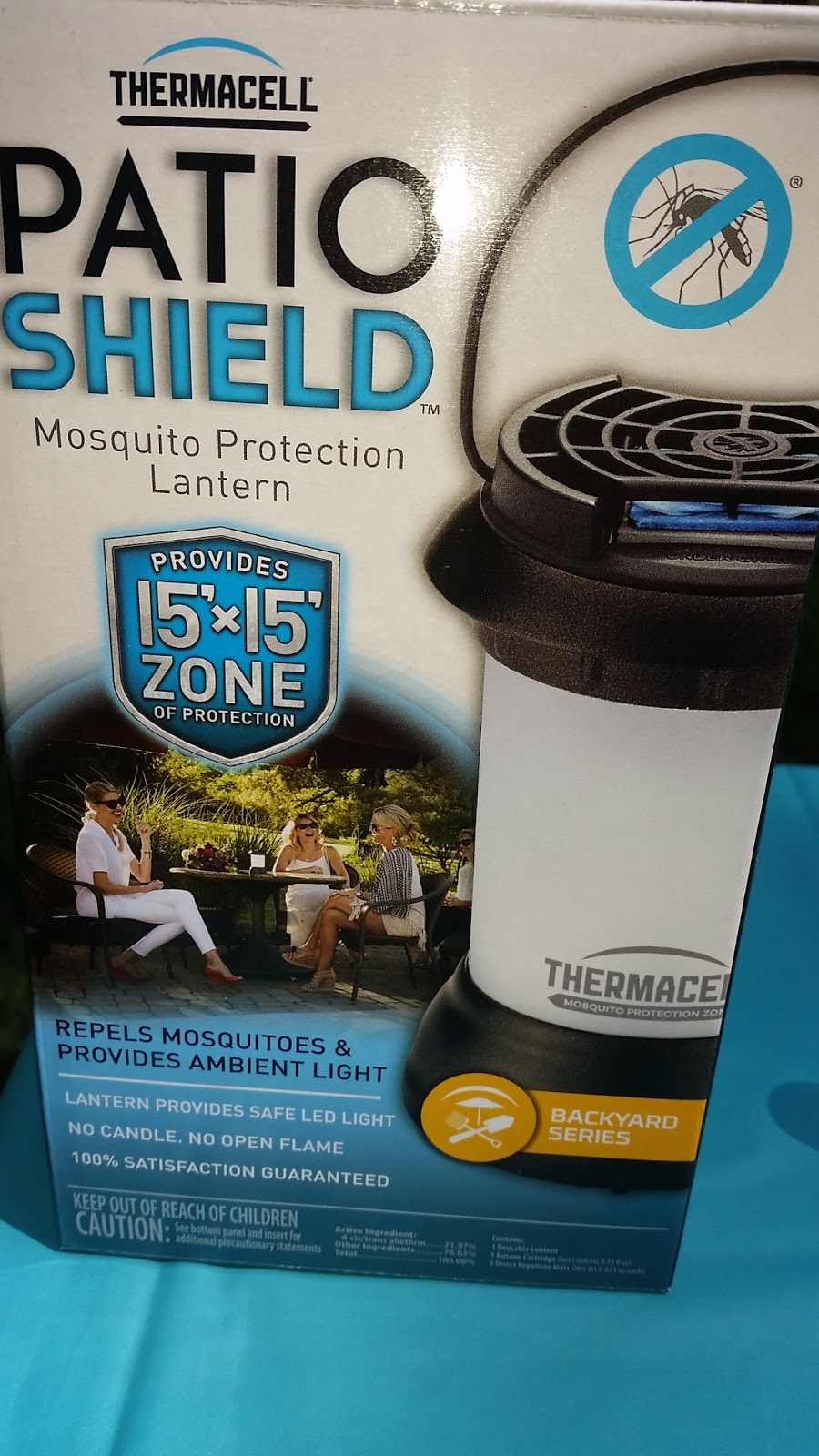 Thermacell Patio Shield Mosquito Protection Lantern Review .