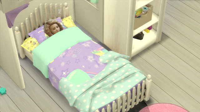 Sims 4 Fairytale Bedroom Set for Toddlers