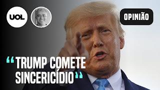 Trump comete sincericídio - Estado de SP na fase amarela - Caetano é o maior influencer