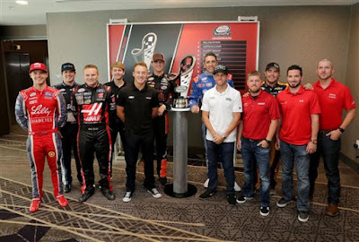 2017 #NASCAR XFINITY Series Playoffs Media Day Photos