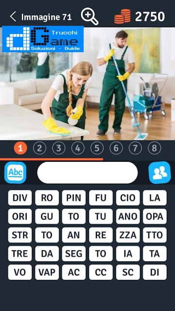 8 Parole Smontate soluzione livello 71-80