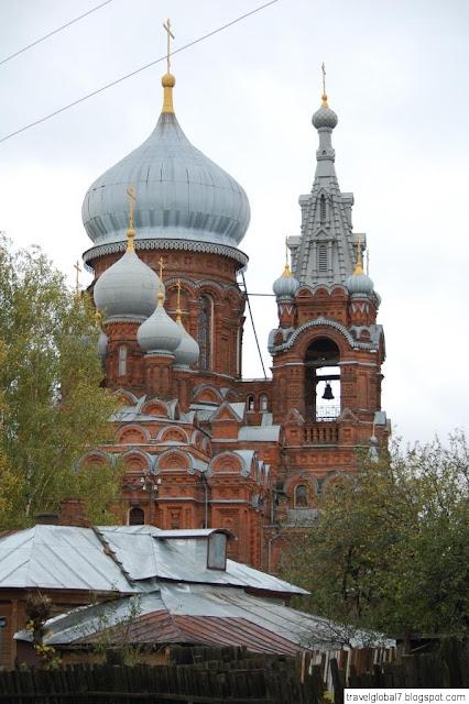 Осень в городе Фурманов Ивановской области