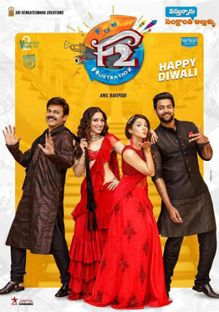F2: Fun and Frustration 2019 Hindi Dubbed Movie Download HDRip 720p