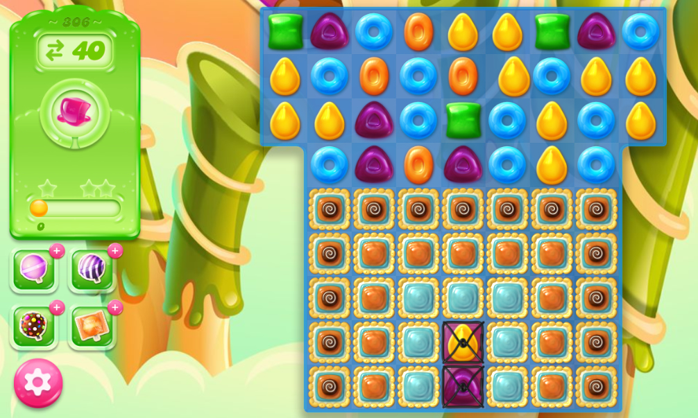 Candy Crush Jelly Saga 306