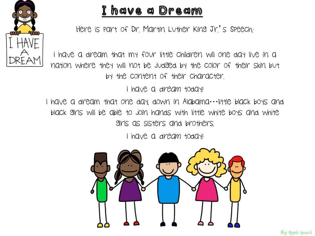 Big Apple Speech Free Martin Luther King Jr Mlk Comprehensive Literacy Pack