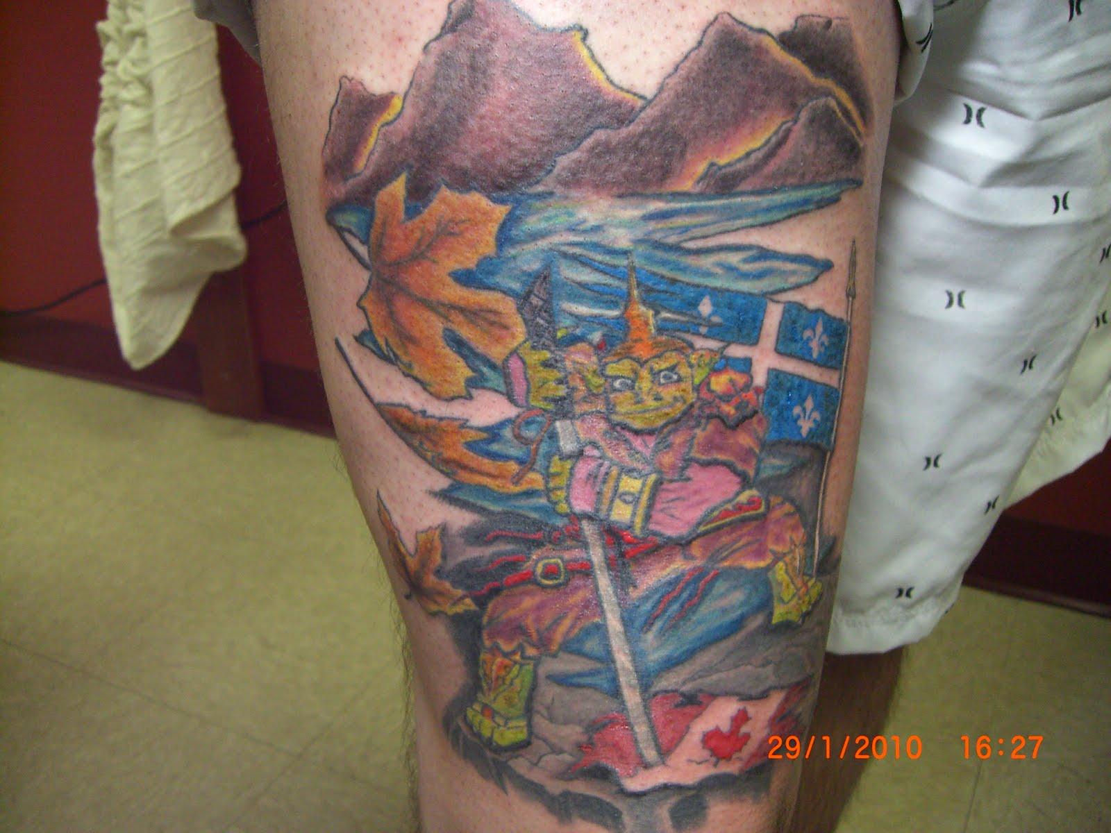 Tattoo Azteca Comienza El 2010 Con El Guerrero Thai De Vinnie