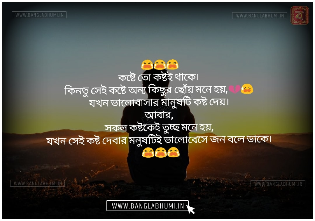Bangla Facebook Sad Love Shayari Status Free