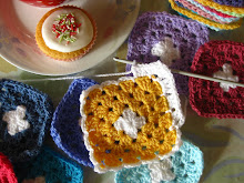 Adding a Chain round to Granny Squares