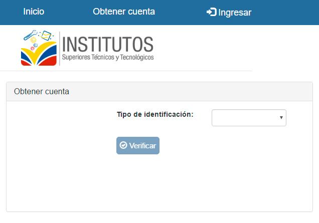 PARA POSTULACIONES A INSTITUTOS TÉNICOS Y TECNOLÓGICOS PÚBLICOS DEL ECUADOR