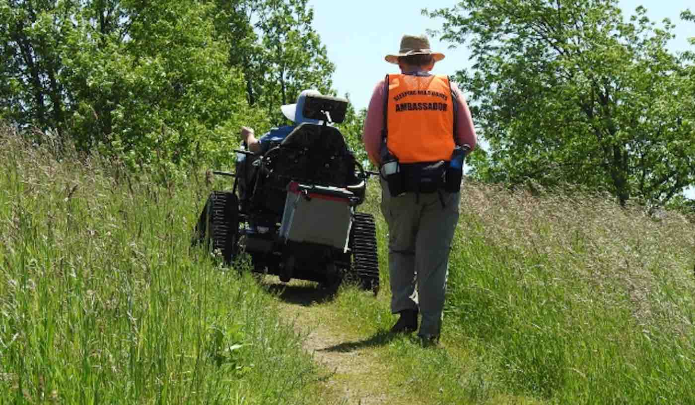 This Is The First-Ever US National Park To Offer Heavy-Duty Wheelchairs For Disabled Visitors