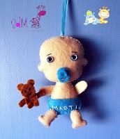 llavero-bebe-fieltro