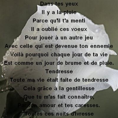 Bien connu poeme d amour sms ~ Messages et Textes d'amour HN45