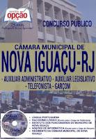 Apostila Câmara de Nova Iguaçu Auxiliar Administrativo