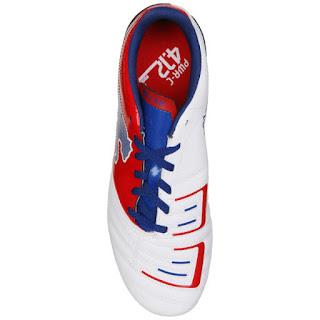 Detalles originales y muy baratas: Puma Powercat 4.12 FG Botas de Fútbol - Blanco/Rojo/Azul