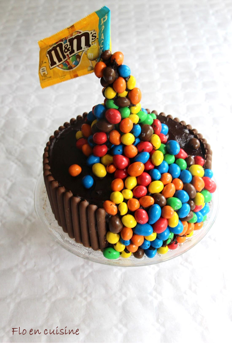 Recette Gravity Cake Mms