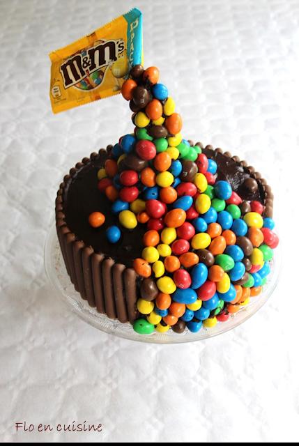 flo en cuisine d cor g teau gravity cake m m 39 s