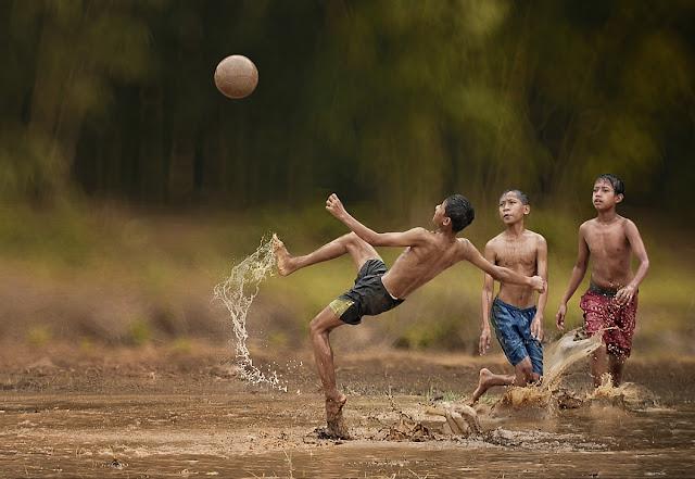 sepakbola sawah