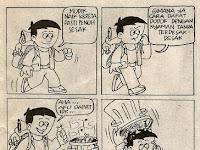 Komik Strip Karya Boedy HP, Tips Mudik Asyik dapat Kursi Longgar