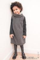 Patrón gratis vestido polar de niña