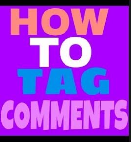 How To Tag Someone On Facebook Comment