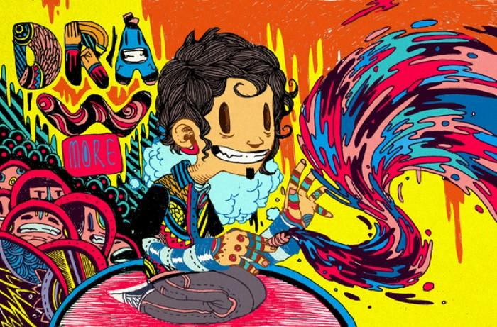 Raul Urias. Взрыв цвета. 29
