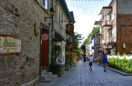 Quebec, Canada,  Quartier Petit Champlain