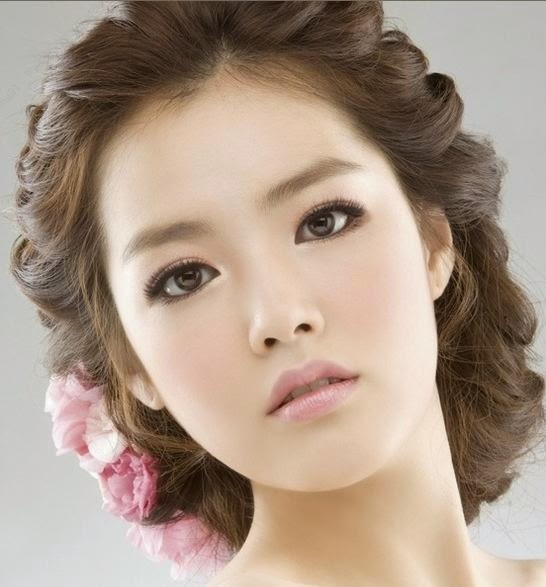 Asian Hair Style Wedding: Inter Variety: Best Makeup Tips To Korea Style