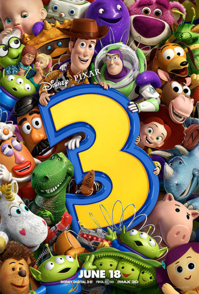 The Geeky Nerfherder: Movie Poster Art: Toy Story 3 (2010)
