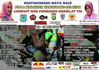 Jelang Bodisa Kratingdaeng Matic Race : Kelas vespa 2t 200cc siap digasspoll