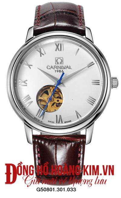 đồng hồ Carnival 1986 lộ máy