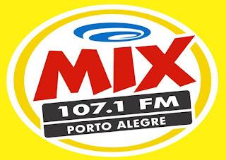 Rádio Mix FM 107,1 de Porto Alegre