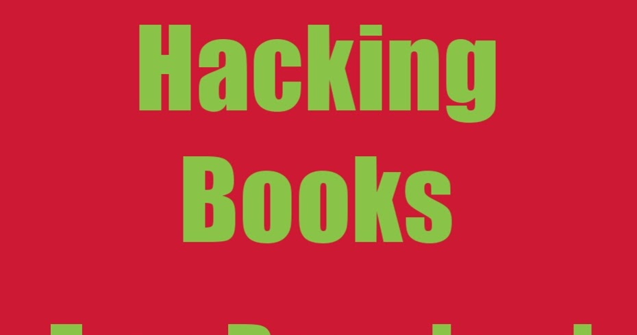 ethical hacking books free download pdf