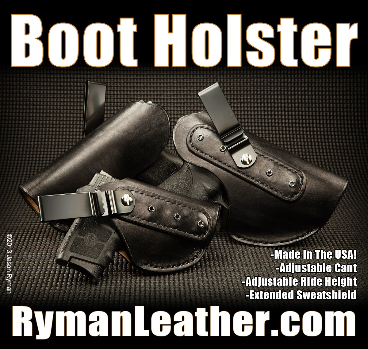 ankle holster, alternative, boot holster, iwb holster, concealment holster