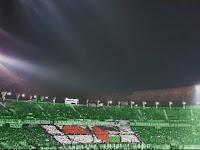 Super Keren! Dukungan Arek-arek Bonek Persebaya Untuk Palestina di Stadion Geloro Bung Tomo