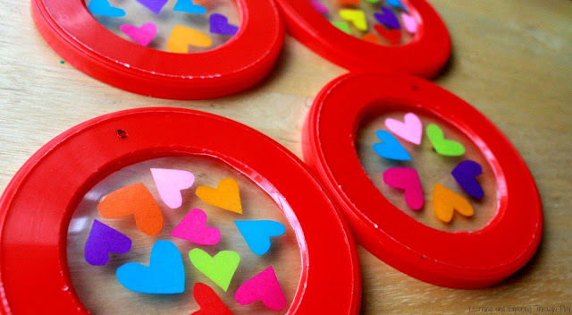 Valentines Crafts for Kids. Recycled Crafts for Kids. Heart Crafts for Kids.