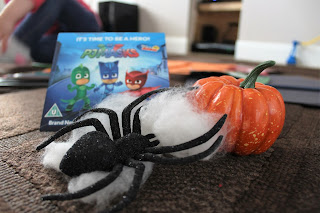 Halloween, party, spider, pj masks, pj masks DVD, pumpkin, disney junior, halloween disney,