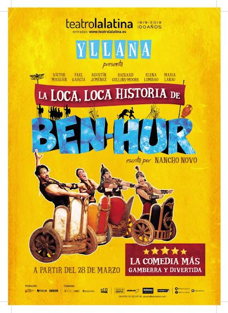 LA LOCA, LOCA HISTORIA DE BEN-HUR: UNA HILARANTE VERSIÓN CON INGENIO Y PLUMA
