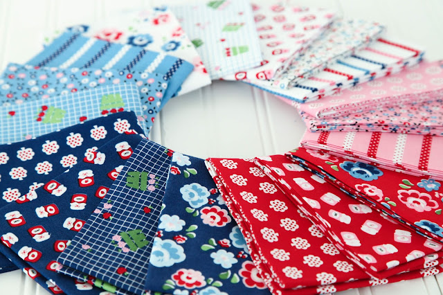 Shortcake Fabric by Heidi Staples of Fabric Mutt for Riley Blake Designs