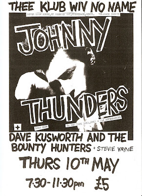 Image result for Johnny Thunders - Live in Stevenage