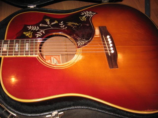 canadian vintage guitar hunt 1972 gibson hummingbird acoustic. Black Bedroom Furniture Sets. Home Design Ideas