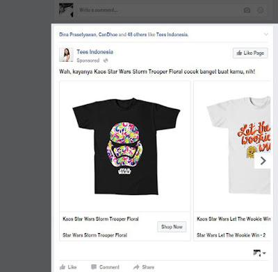 contoh iklan news feed iklan facebook
