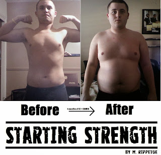 Image result for Starting Strength Results meme
