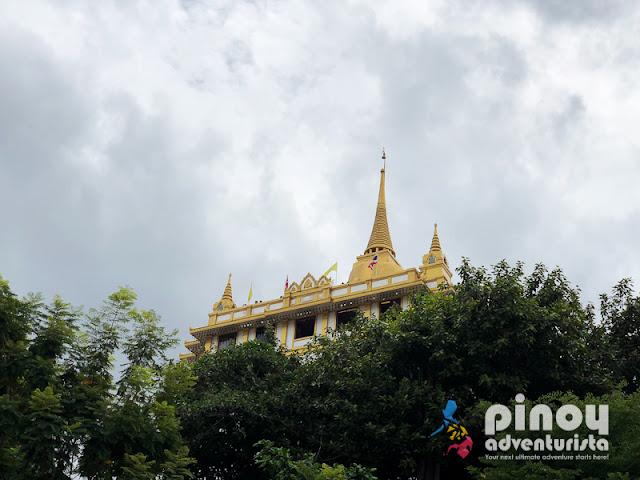 WAT SAKET BANGKOK TOURIST SPOTS
